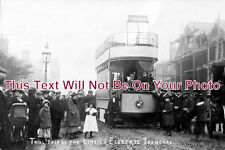LI 620 - Trial Trip Of The Lincoln Electric Tramcars, Lincolnshire c1905