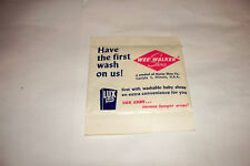 Vintage Wee Walker Shoes Unopened Premium Packet Lux Laundry Flakes Soap