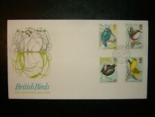 1980 BRITISH BIRDS POST OFFICE UNADDRESSED FDC & HOUSE OF COMMONS SHS CV £35