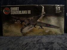 SHORT SUNDERLAND III 1/72  BY   AIRFIX  KIT  No  06001