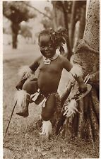 RPPC,South Africa,African Baby,Ethnic Postcard,Used,So.Africa Stamp,1951