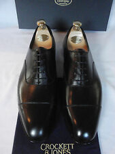 NEW Crockett Jones AUDLEY Handgrade Black Calf Leather Shoes ALL SIZES RRP £540