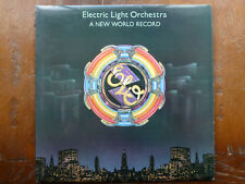 "ELO. A New World Record. 12"" LP. Embossed Sleeve.Excellent Condition. 1976."