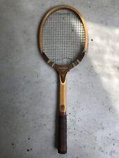 Vintage Tad Davis Wood Tennis racquet racket Atq Imperial