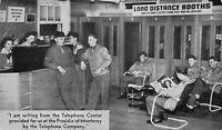 Postcard Telephone Center Booths Presidio of Monterey, California~117049