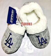 Los Angeles Dodgers MLB Team Ladies Moccasin Slippers