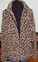Columbia Sportswear Ladies Leopard Look Fleece Jacket Size XL (Black Scarf Inc.)