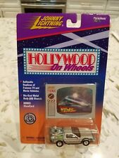 Back To The Future DeloreanJohnny Lightning Hollywood On Wheels Die-Cast   NEW