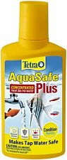 Tetra AquaSafe Plus Water Conditioner/Dechlorinator, Packaging may vary