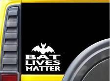 Bat Lives Matter Sticker k151 6 inch cave decal