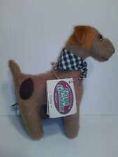 1997 Lorraine GANZ Cottage Collectibles Farley Terrier Dog W/ Scarf