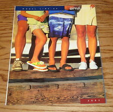 Original 2002 Bayliner Full Model Line Sales Brochure 02 Capri Ciera