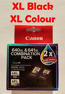 2x Canon PG-640XL CL-641XL MG2160 MG2260 MG3160 MG3260 MG3650 MG3660 MG4160 4260