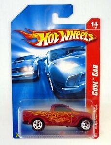 HOT WHEELS DODGE POWER WAGON #14 Code Car 14/24 Die-Cast Car MOC COMPLETE 2006