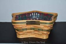 Longaberger 2001 Green Shining Star Basket Set - Excellent Condition