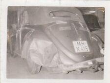 Foto VW Käfer Cabrio Unfall Auto Oldtimer 1
