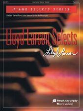Lloyd Larson Selects Sheet Music Piano Selects Series NEW 008753632