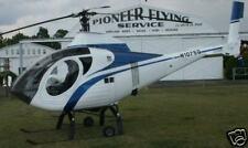 Schweizer Model 330 Helicopter Airplane Wood Model Big
