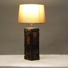 Retro Table Lamp - Vintage Letterpress Wood Type
