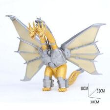 Godzilla 3 Head Gold Dragon King Ghidorah Monster Model Figures Statue Toys Gift