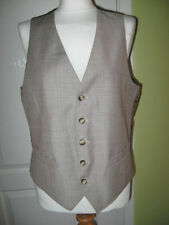 Unbranded Polyester Formal Regular Size Waistcoats for Men