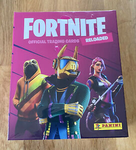 Panini Fortnite Serie 2 Trading Cards - Mega Box 12 Booster + 4 Extra Cards