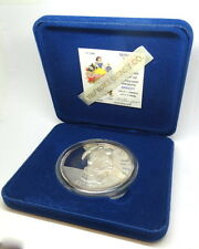 DISNEY Snow White 50th Anniversary SNEEZY Collectable .999 Fine 5oz Silver Medal