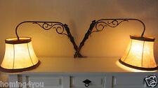 OMI Wandlampe Lampe Leuchte Messing Paar Ausleger