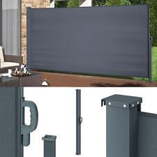 Seitenmarkise Sichtschutz 180x350cm Sonnenschutz Seitenrollo Markise Windschutz