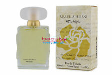 Mariella Burani Messages 3.4oz / 100ml Eau De Toilette Spray For Women Very RARE