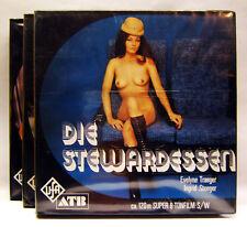 UfA 023-3 024-3 025-3, 3 Teiler, Super 8 Film, Die Stewardessen, Ingrid Steeger