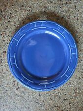 """New ListingLongaberger Woven Traditions Cornflower Blue pottery 9"""" lunch salad plate Usa"""