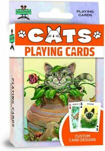 Cats set of 52 playing cards + Jokers (mpc)