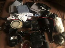 Huge Lot of Camera Gear and Accessories backpack, lenses, etc (See All Pictures)
