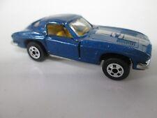 Vintage Road Champs '63 Corvette Metallic Blue No 72 with box