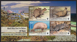 Australia 2011 WWF 50 Years Joint Issue MS - 126th Anniv CHICAGOPEX 2012