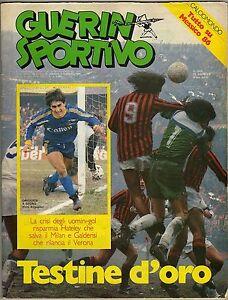 Guerin sportivo n° 5/1985 - Inserto Calciomondo. Tutto su Mondiali Messico '86