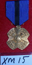 XM15 Belgium Gold medal of the Order of Leopold11