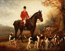 Hepple Wilson John Fox Hunt Print 11 x 14   #3418