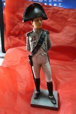 Grand statue polychrome de Napoleon Bonaparte 33cm - bicorne pas casque empire