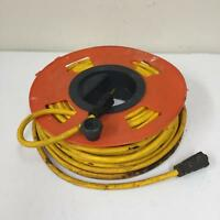 50 ft 12/3 SJTW Outdoor Heavy Duty Extension Cord with kord-o-wynd e64047