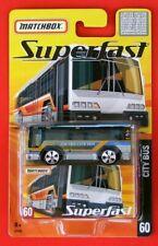 MATCHBOX Superfast    von 2005  Nr. 60  CITY BUS   OVP