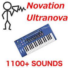 1,100+ Novation Ultranova Mininova Sound Library Patches Programs  - D0wnload