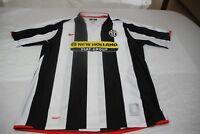 """Camiseta Futbol OFICIAL JUVENTUS de Turin 2007-08 NIKE Talla """"L"""" Bianconeri"""