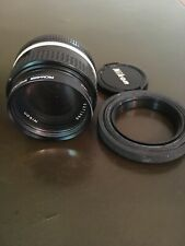 Nikon NIKKOR 50mm f/1.4 lens excellent used condition