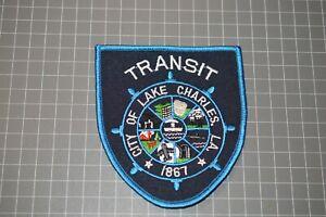 City Of Lake Charles Louisiana Transit Department Patch (B17-A1)