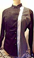 Womens Wrangler Western Wear Shirt~ Long sleeved Rodeo shirt~Sz L EUC!