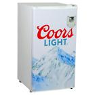 3.3 Cu. Ft. Coors Light Mini Fridge In White
