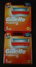 Gillette Fusion 5 (10 Recharges envoyées par lettre suivie)