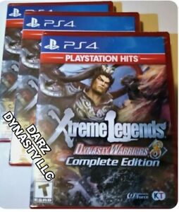 Dynasty Warriors 8 Xtreme Legends Complete Edition ( PS4 ) Region Free
